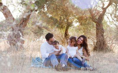 Cayetana e Irene con sus padres, parte 2