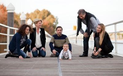 La familia de Víctor