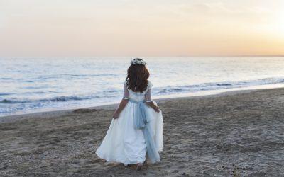 Fotos de Primera Comunión en la playa